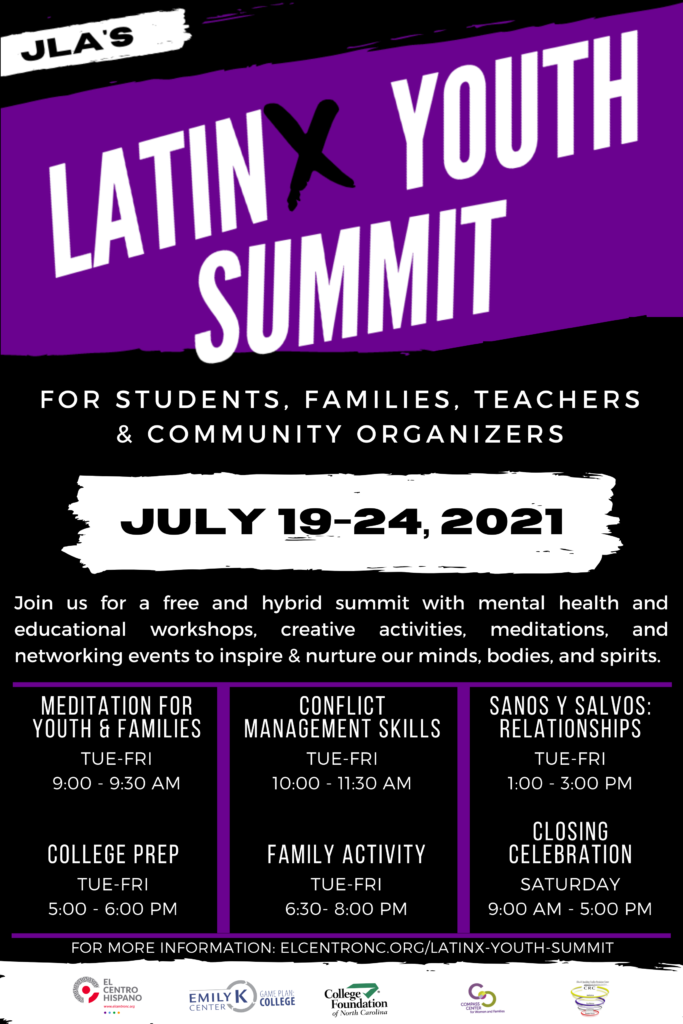 latin youth summit flyer