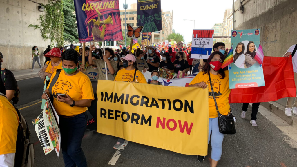 raising our voices for an immigration reform